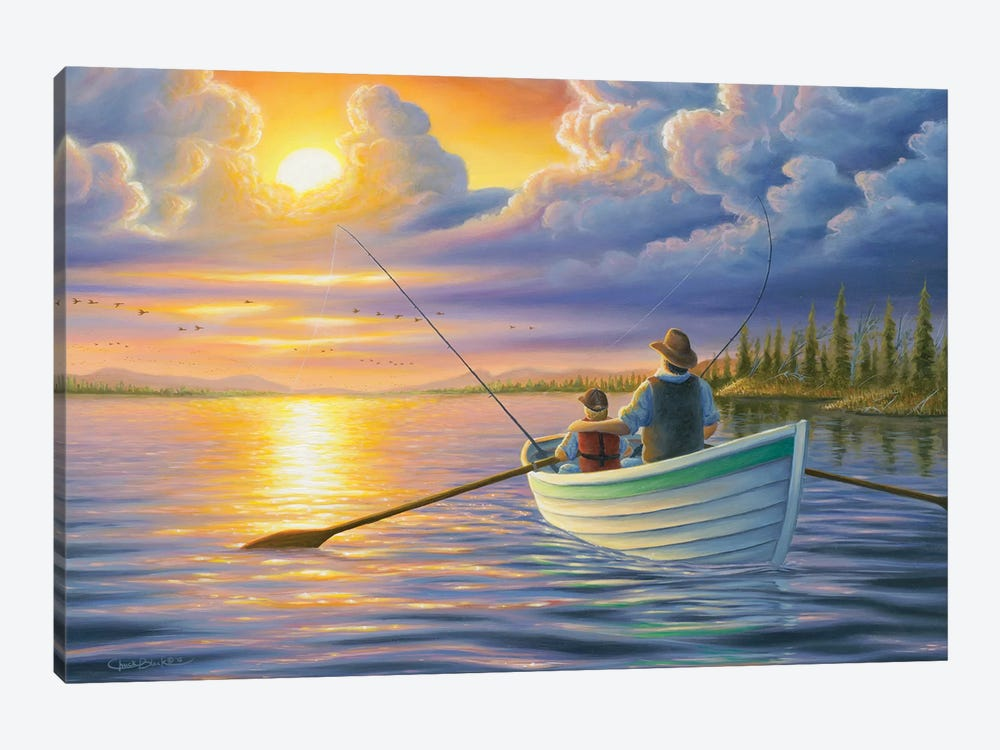 Unforgettable Moments by Chuck Black 1-piece Canvas Print
