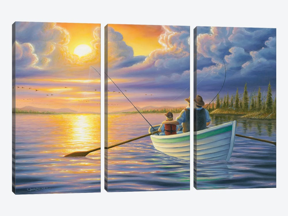 Unforgettable Moments by Chuck Black 3-piece Canvas Art Print