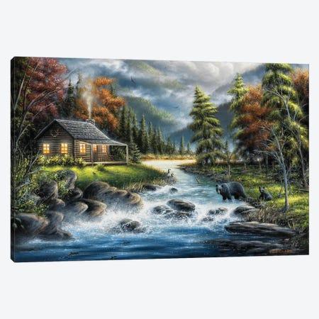 As Autumn Approaches Canvas Print #CHB7} by Chuck Black Canvas Artwork