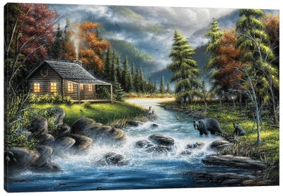 As Autumn Approaches Canvas Art Print