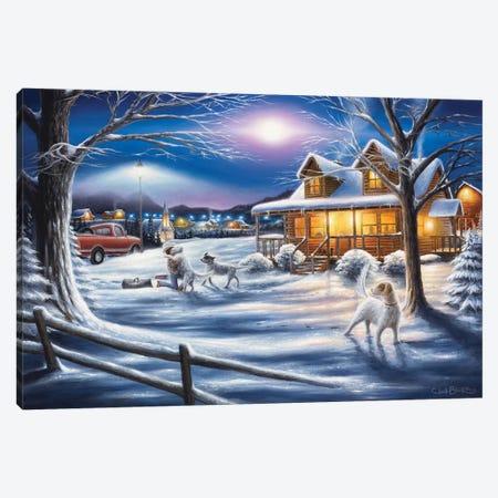 Welcome Home Canvas Print #CHB80} by Chuck Black Canvas Wall Art