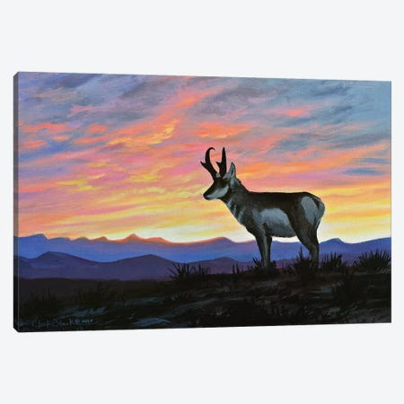 Western Memories Canvas Print #CHB81} by Chuck Black Canvas Wall Art