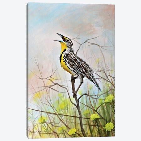 Western Song Canvas Print #CHB82} by Chuck Black Canvas Art
