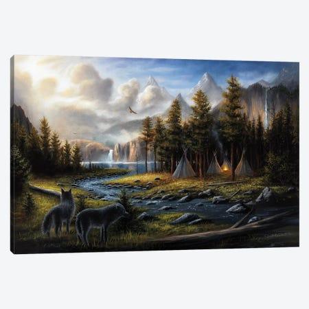 Wild America 3-Piece Canvas #CHB84} by Chuck Black Art Print