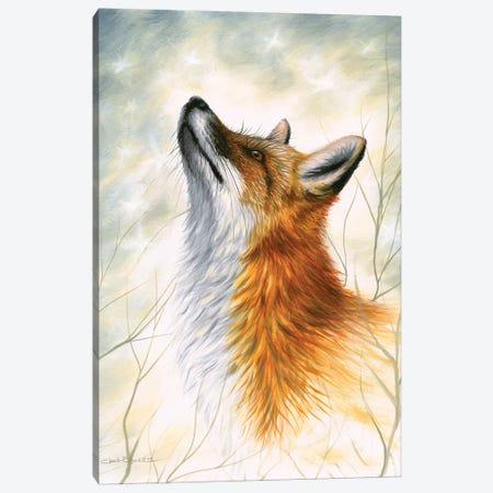 Winter's Warmth Canvas Print #CHB86} by Chuck Black Canvas Print