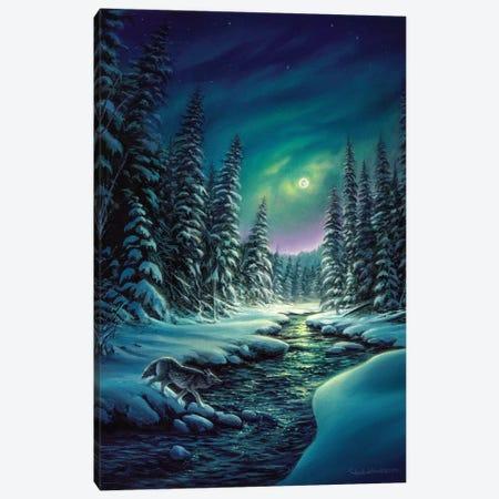 A Quiet Stroll Canvas Print #CHB87} by Chuck Black Canvas Art Print