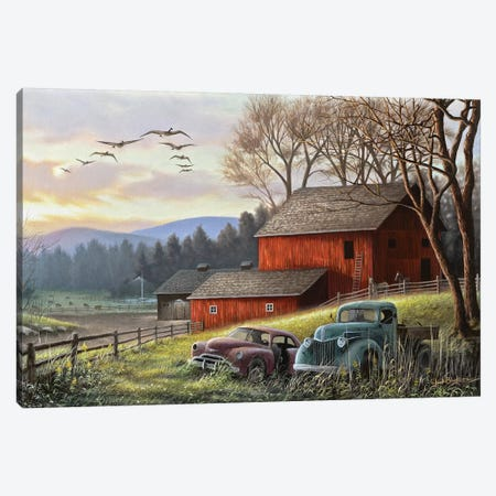 Countryside Dream 3-Piece Canvas #CHB89} by Chuck Black Canvas Artwork