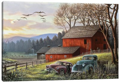 Countryside Dream Canvas Art Print