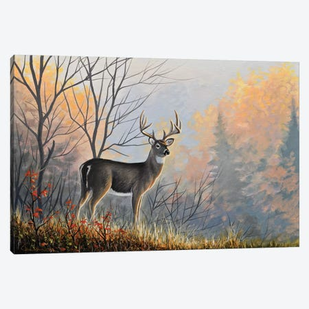 Autumn Air Canvas Print #CHB8} by Chuck Black Art Print