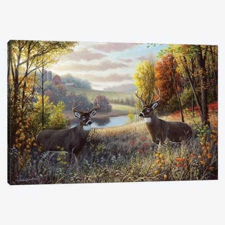 October Bliss Canvas Print #CHB92} by Chuck Black Canvas Print