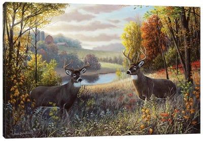 October Bliss Canvas Art Print