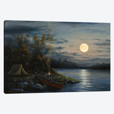 Peaceful Waters Canvas Print #CHB93} by Chuck Black Canvas Print