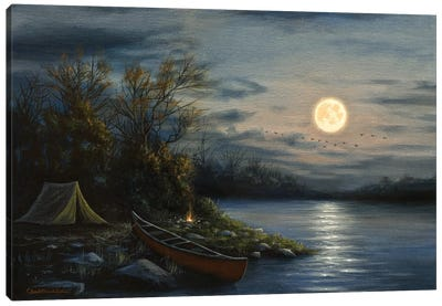 Peaceful Waters Canvas Art Print