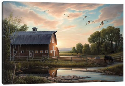 Returning Home Canvas Art Print