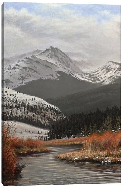 Yellowstone Country Canvas Art Print