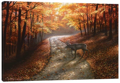 Autumn Bliss Canvas Art Print