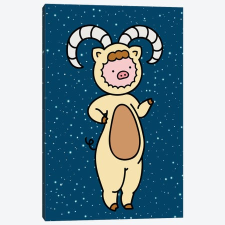 Aries Canvas Print #CHC4} by CHAN-CHAN Canvas Print