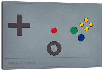 Nintendo 64 Canvas Art Print