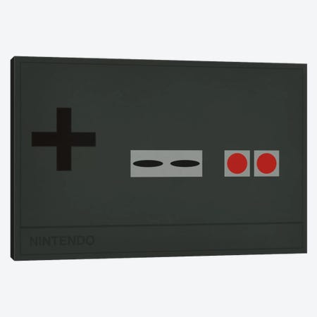 Nintendo Canvas Print #CHD23} by 5by5collective Canvas Art