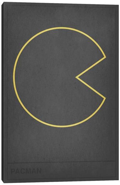 Pacman Canvas Art Print