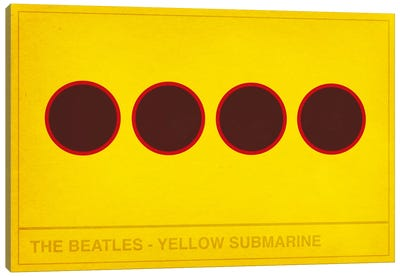 The Yellow Submarine Canvas Art Print