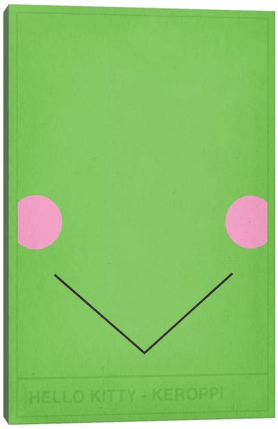 Hello Kitty Keroppi Canvas Art Print