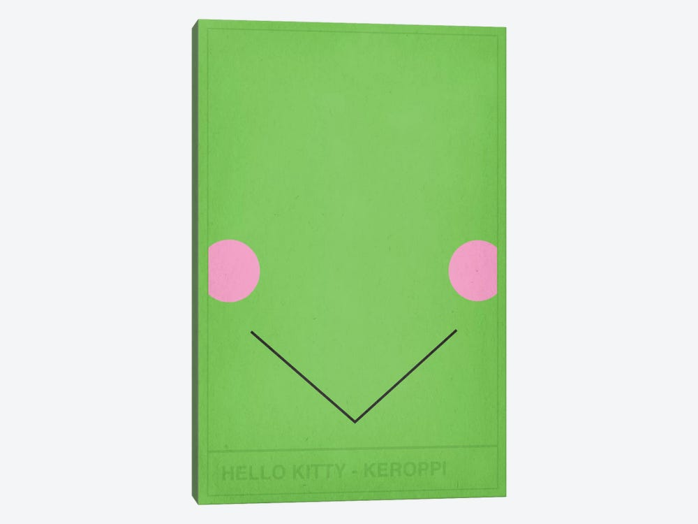 Hello Kitty Keroppi by 5by5collective 1-piece Canvas Print