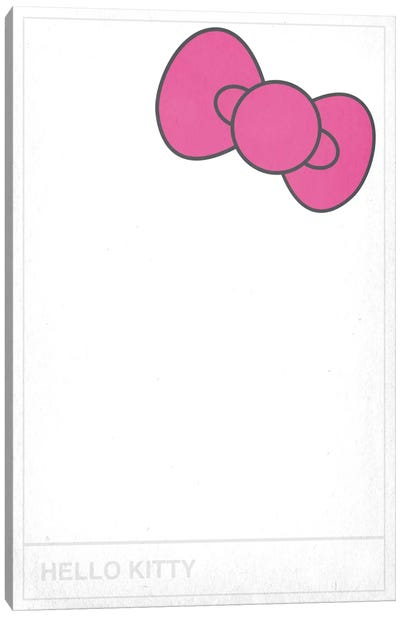 Hello Kitty Canvas Art Print