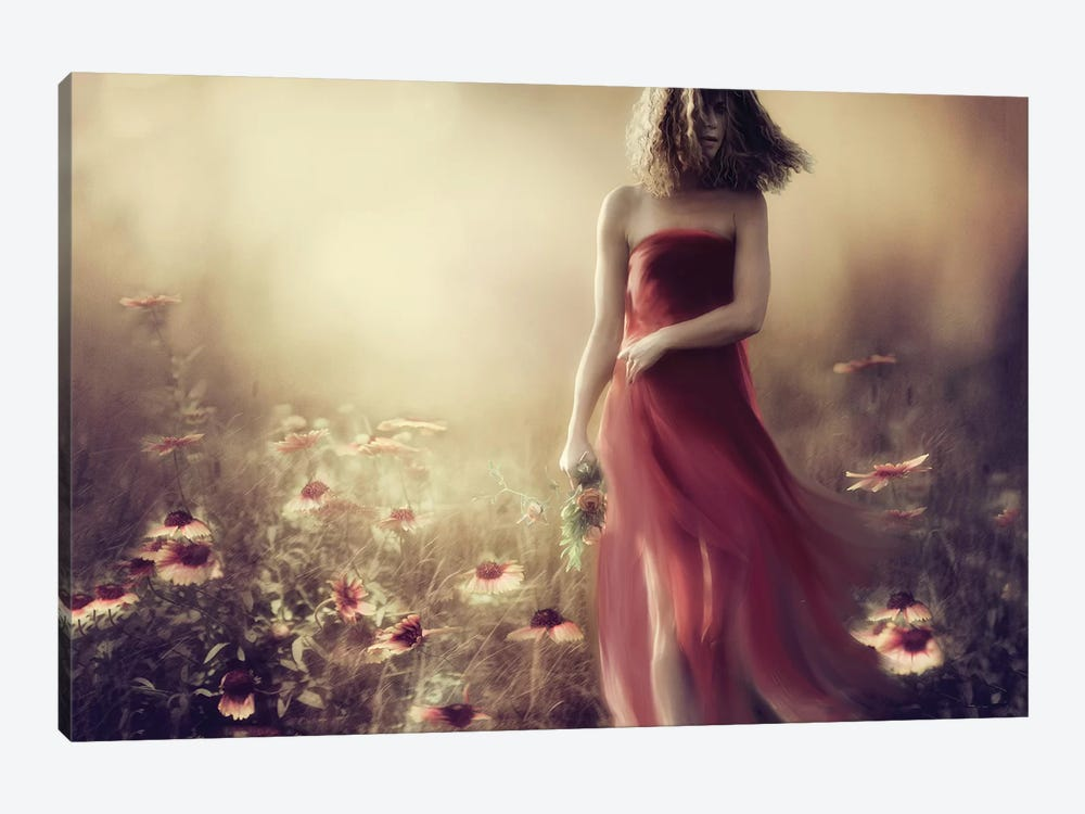 I'Ve Been Searching For My Dream A Hundred Times Today... by Charlaine Gerber 1-piece Canvas Artwork