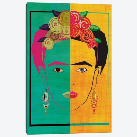 Frida I Canvas Print #CHH10} by Chhaya Shrader Canvas Art Print