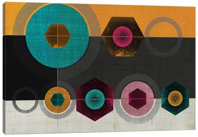 Geometric II Canvas Art Print