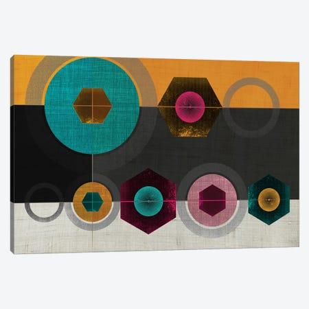 Geometric II Canvas Print #CHH12} by Chhaya Shrader Art Print