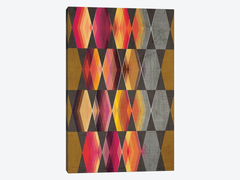 Geometric III by Chhaya Shrader 1-piece Art Print