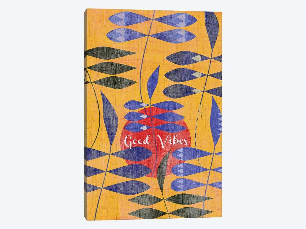 Good Vibes by Chhaya Shrader 1-piece Canvas Art