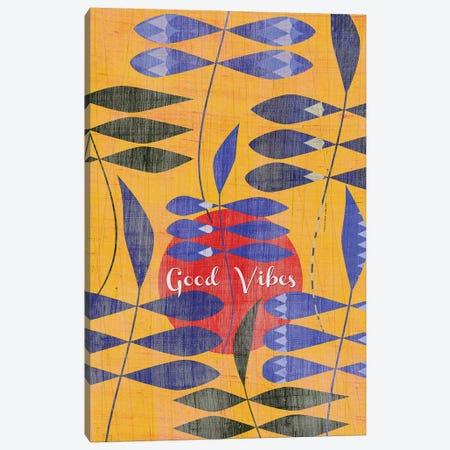 Good Vibes Canvas Print #CHH14} by Chhaya Shrader Canvas Art