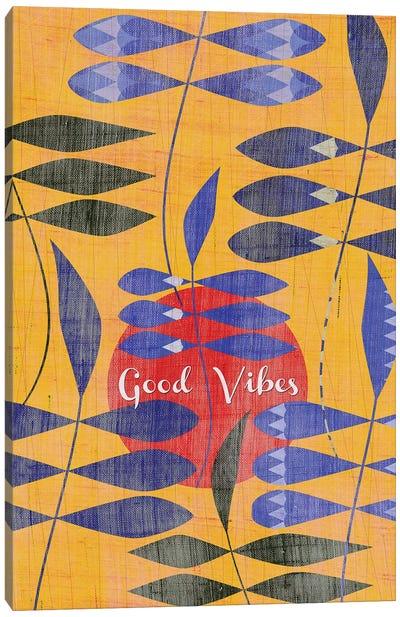 Good Vibes Canvas Art Print