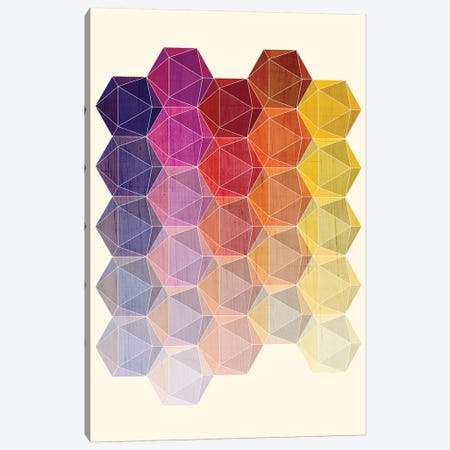 Hedron I Canvas Print #CHH15} by Chhaya Shrader Canvas Artwork