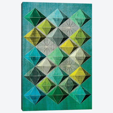 Hedron II Canvas Print #CHH16} by Chhaya Shrader Canvas Art