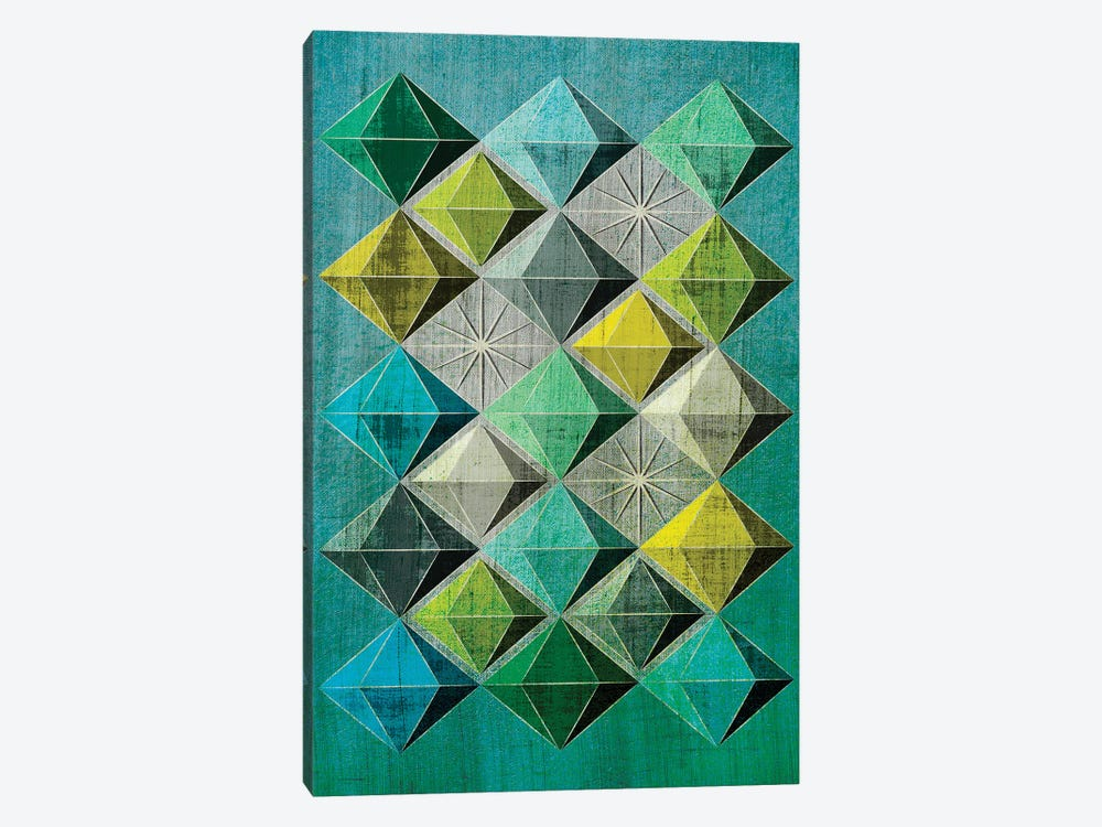 Hedron II by Chhaya Shrader 1-piece Canvas Artwork