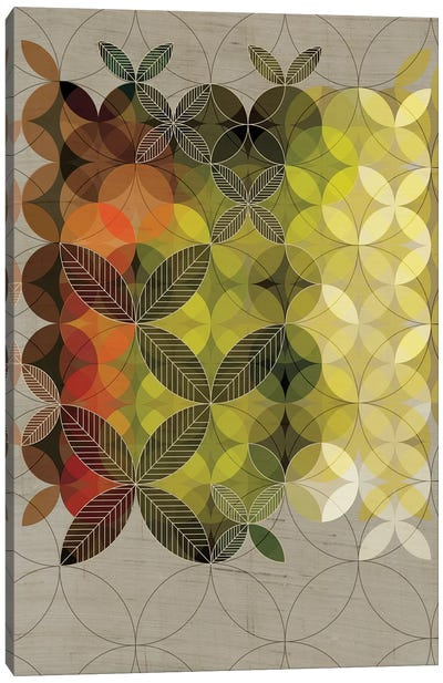 Leaves Canvas Art Print
