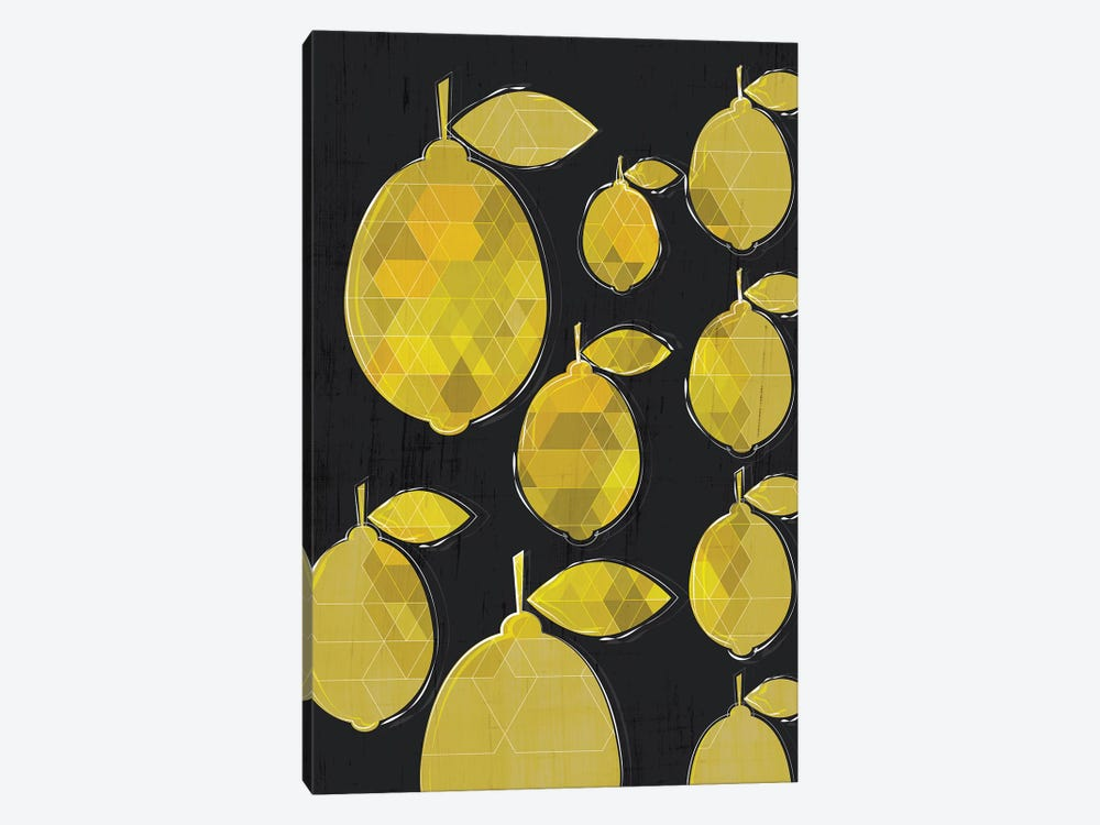 Lemons by Chhaya Shrader 1-piece Canvas Art