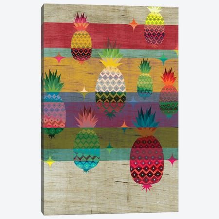 Pineapple Canvas Print #CHH20} by Chhaya Shrader Canvas Art