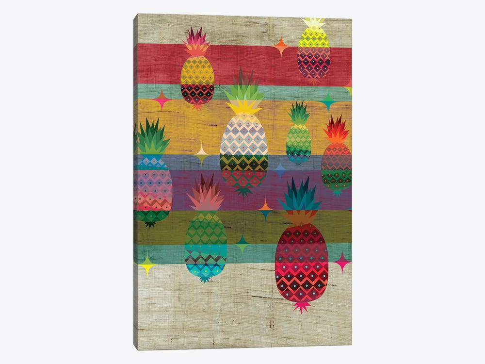 Pineapple by Chhaya Shrader 1-piece Canvas Art Print