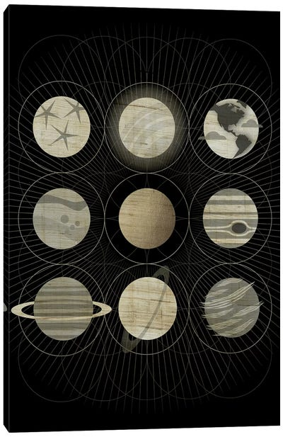Planets Canvas Art Print