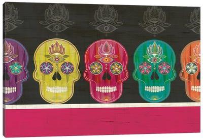 Skulls Canvas Art Print