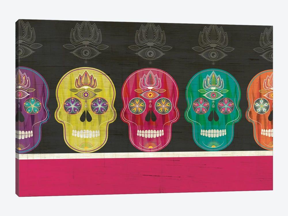 Skulls by Chhaya Shrader 1-piece Canvas Artwork