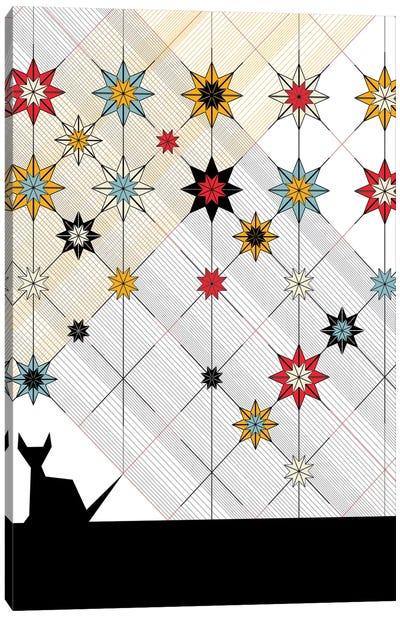 Black Cat Canvas Art Print