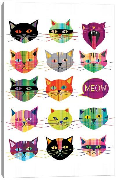 Cats Canvas Art Print