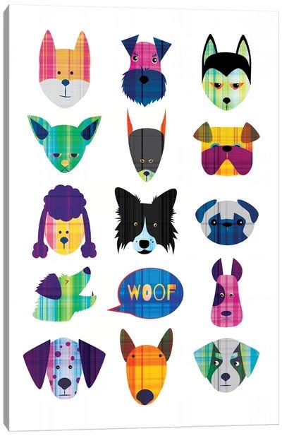 Dogs Canvas Art Print