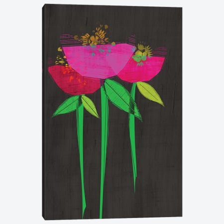 Floral Canvas Print #CHH39} by Chhaya Shrader Canvas Print